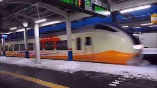 冬の羽越本線 新潟~酒田