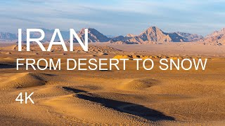 Iran – from desert to snow 4K UHD