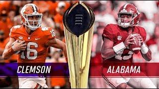 Alabama Vs Clemson IV (Part 3 of 7) BreakDown By John Doe