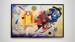 "Wassily Kandinsky – ""Gelb – Rot – Blau"""