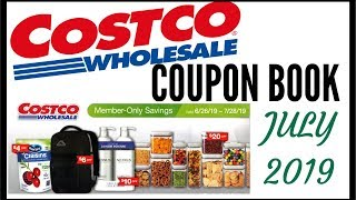 💵 JULY 2019 COSTCO COUPON BOOK ● COSTCO MEMBER ONLY SAVINGS DEALS 2019 ● JUNE - JULY 6/26 - 7/28/19