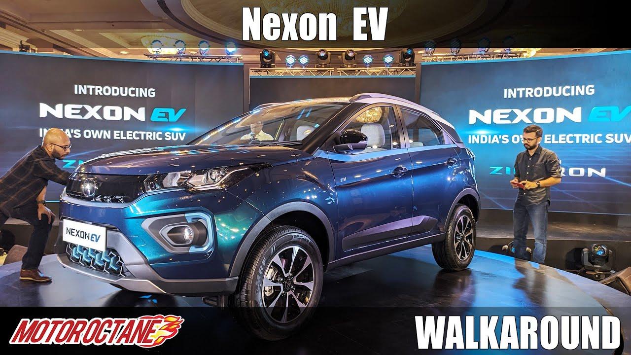 Motoroctane Youtube Video - Tata Nexon Electric Walkaround | Hindi | Motoroctane
