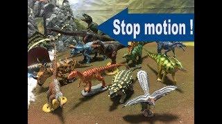 コマ撮り!ダイナソー ソフトモデル◆Favorite Dinosaur ティラノサウルス恐竜フィギュア Jurassic World Toys Figuresジュラシックワールド 炎の王国