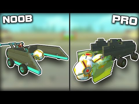 NOOB vs PRO Hungry Hippo Ball Collecting! (Scrap Mechanic Gameplay)
