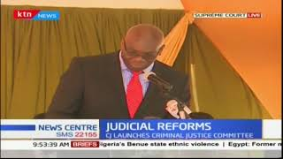 CJ launches criminal justice committee