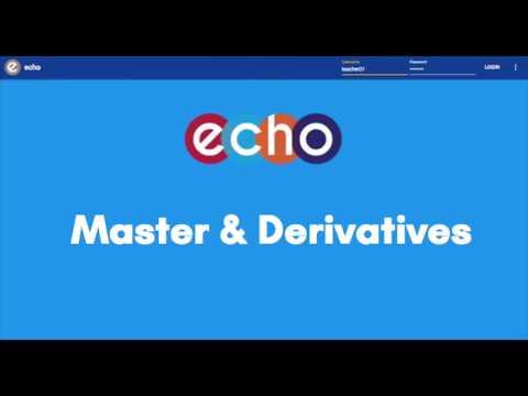Master & Derivatives - YouTube