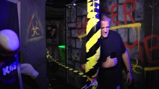 AngryDad FLIPS OUT During Haunted House Visit