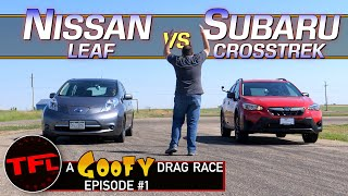 This Drag Race Is Not as Slow as You Think…It's MUCH Slower!   Goofy Drag Race #1
