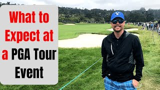 What to Expect When Going to a PGA Tour Event