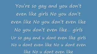lyrics-for-ur-so-gay-katy-perry