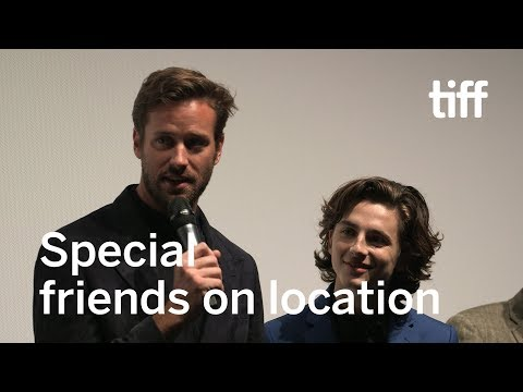The Chemistry of Armie Hammer and Timothée Chalamet | TIFF 2017