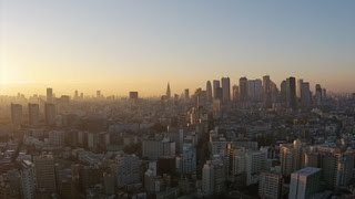 東京Tokyoの夜明けdawnPhantom2V+空撮12/2014