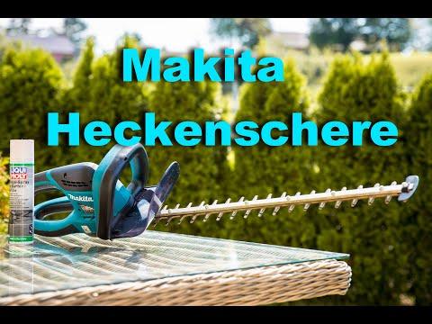 Makita Heckenschere Pflege und Tipps!