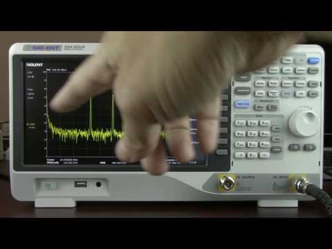 SIGLENT SSA3000X Spectrum Analyzer Highlights