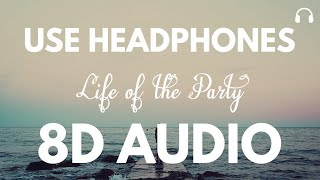 Shawn Mendes - Life Of The Party (8D Audio)