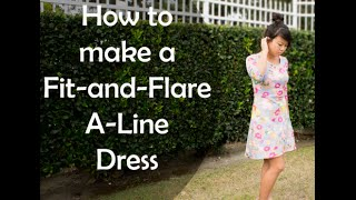 DIY Fit And Flare A-Line Dress