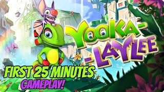 Yooka Laylee Gameplay - First 25 Minutes!