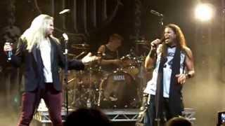 Jeff Scott Soto & Nathan James - Stand Up, live at HRH AOR, April 2013 Steel Dragon Rock Star
