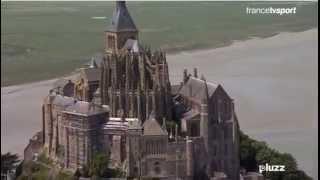 Extrait étape TDF/Drone Mont St Michel