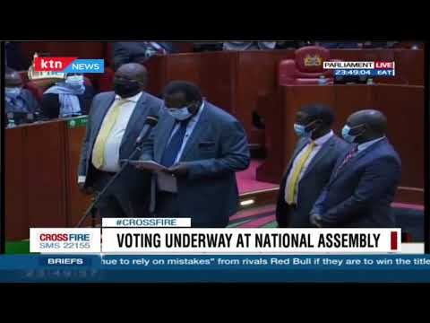 BREAKING NEWS: National Assembly passes the BBI bill