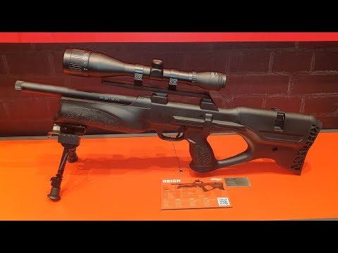 Walther Reign Bullpup Pressluft Gewehr IWA 2019