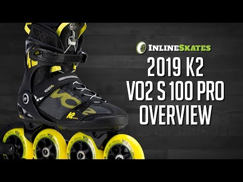 Video: 2019 K2 VO2 S 100 Pro Inline Skate Overview by InlineSkatesDotCom