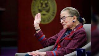 "Supreme Court Justice Ruth Bader Ginsburg -- aka ""Notorious RBG"" -- turns 85"