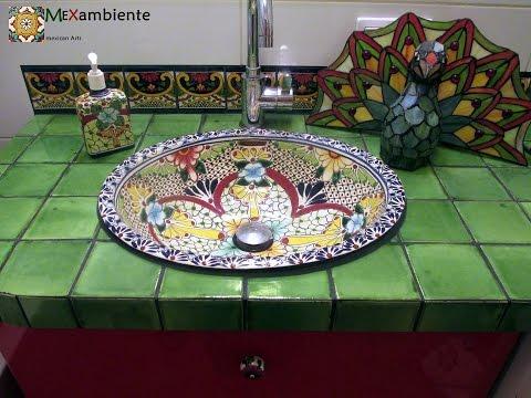Mexiko Einbauwaschbecken - Videogalerie - Mexambiente Designs