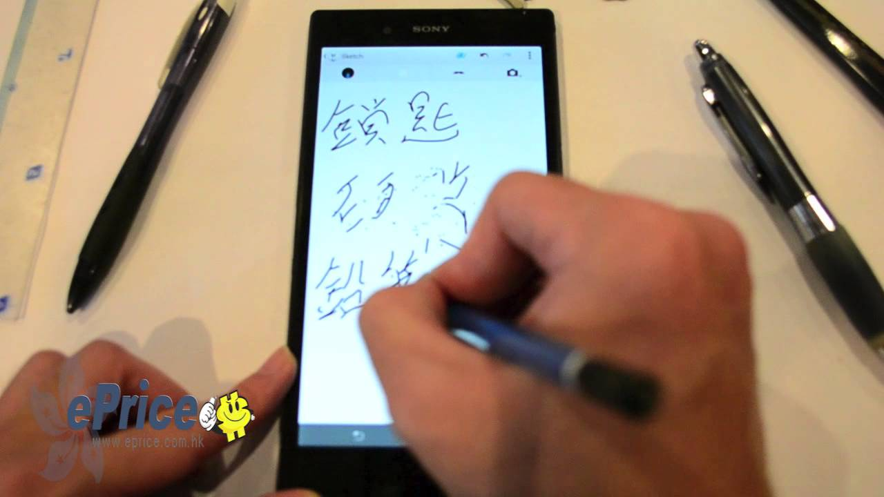 Sony Xperia Z Ultra Can Turn Anything Into A Stylus: Even Knives (Video)