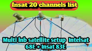 insat 4a 83e c band channels - मुफ्त ऑनलाइन
