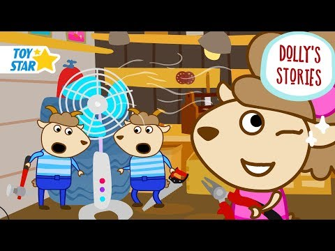 Dolly's Stories | Weird Fan | Funny New Cartoon for Kids | Episode #55