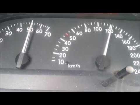 Der Wagen das Spielzeug auf dem Benzin