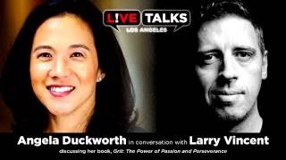 Angela Duckworth in conversation with Larry Vincent