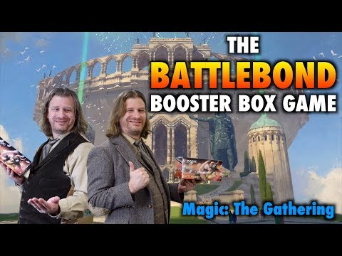 MTG – Let's play the BattleBond Booster Box Game for Magic: The Gathering
