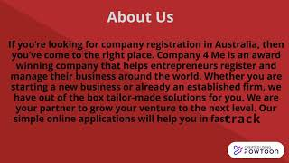 Assistance for Company registration Australia