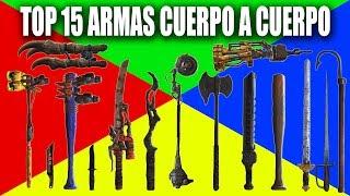 FALLOUT 4 | TOP 15 ARMAS CUERPO A CUERPO