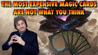 The Most Expensive Magic: The Gathering Cards Are Not What You Think