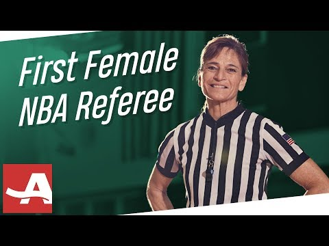 The First Female NBA Referee Tells All