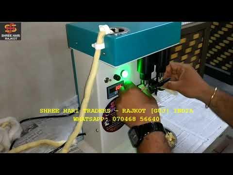 Semi Automatic Cotton Wick Making Machine