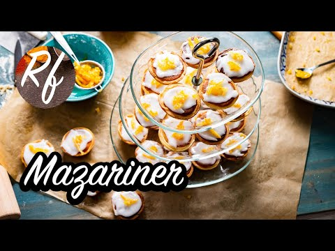 How to make Swedish Mazariner. An almond cake with sugar glazing and shortcrust pastry. >