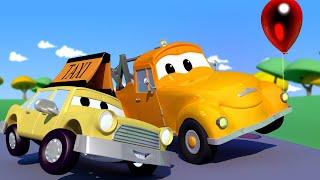 Odtahové auto pro děti - Taxík Jeremy Rozptýlili Létající Balónky!