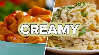 4 Creamy Dairy-Free Pastas