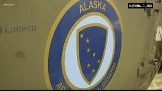 Alaska National Guard Helps In Flood Relief