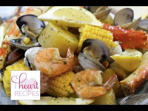 Seafood Boil Recipe made indoors | I Heart Recipes
