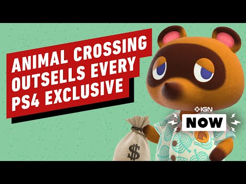 Animal Crossing New Horizons Outsold Every PS4 Exclusive in 3 Months – IGN Now
