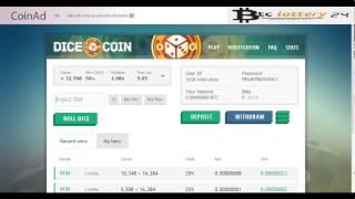 CoinAd.com - Заработок Bitcoin. Обзор. Вывод Биткоин из проекта.