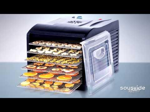 Voedseldrogers Hendi (dehydrator) 6-trays en 9-trays