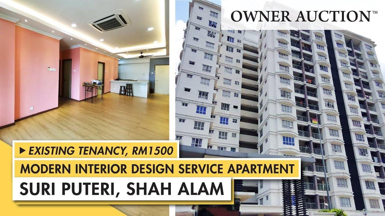 [Owner Auction™] Suri Puteri, Shah Alam Service Apartment up For Sale