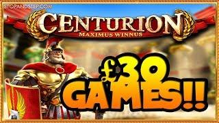 BIG BETS!! £30 Fortune Spins Centurion