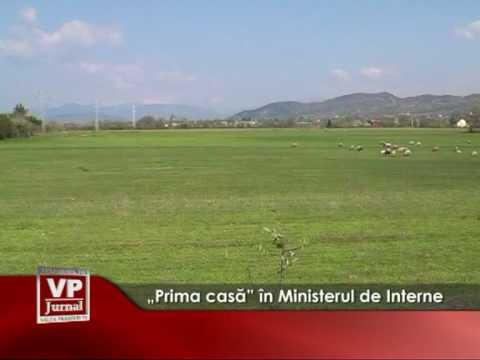 """""""Prima casă"""" în Ministerul de Interne"""
